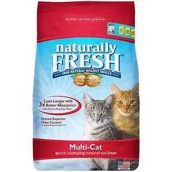 Blue Walnut-Based Multi-Cat Quick-Clumping Litter, Unscented Main Image