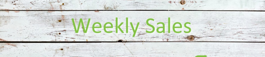 Weekly Sale! Shop Category