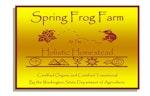 Spring Frog Farm