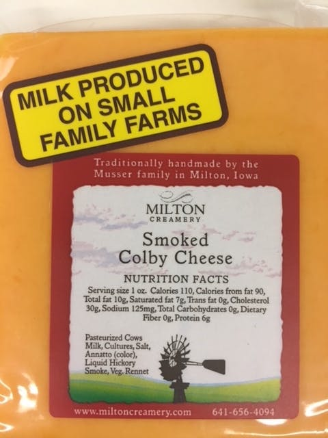 Smoked Colby Cheese (package)   Prudent Produce