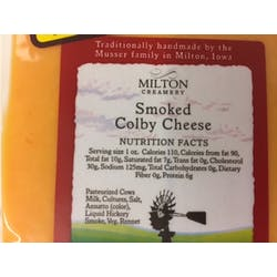 Smoked Colby Cheese (package) | Prudent Produce