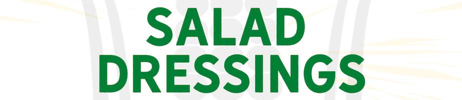 Salad Dressings Shop Category